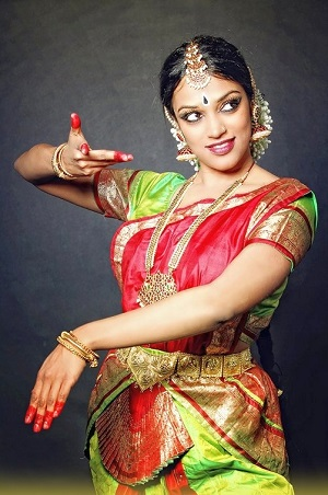 Die Tänzerin Shany Mathew